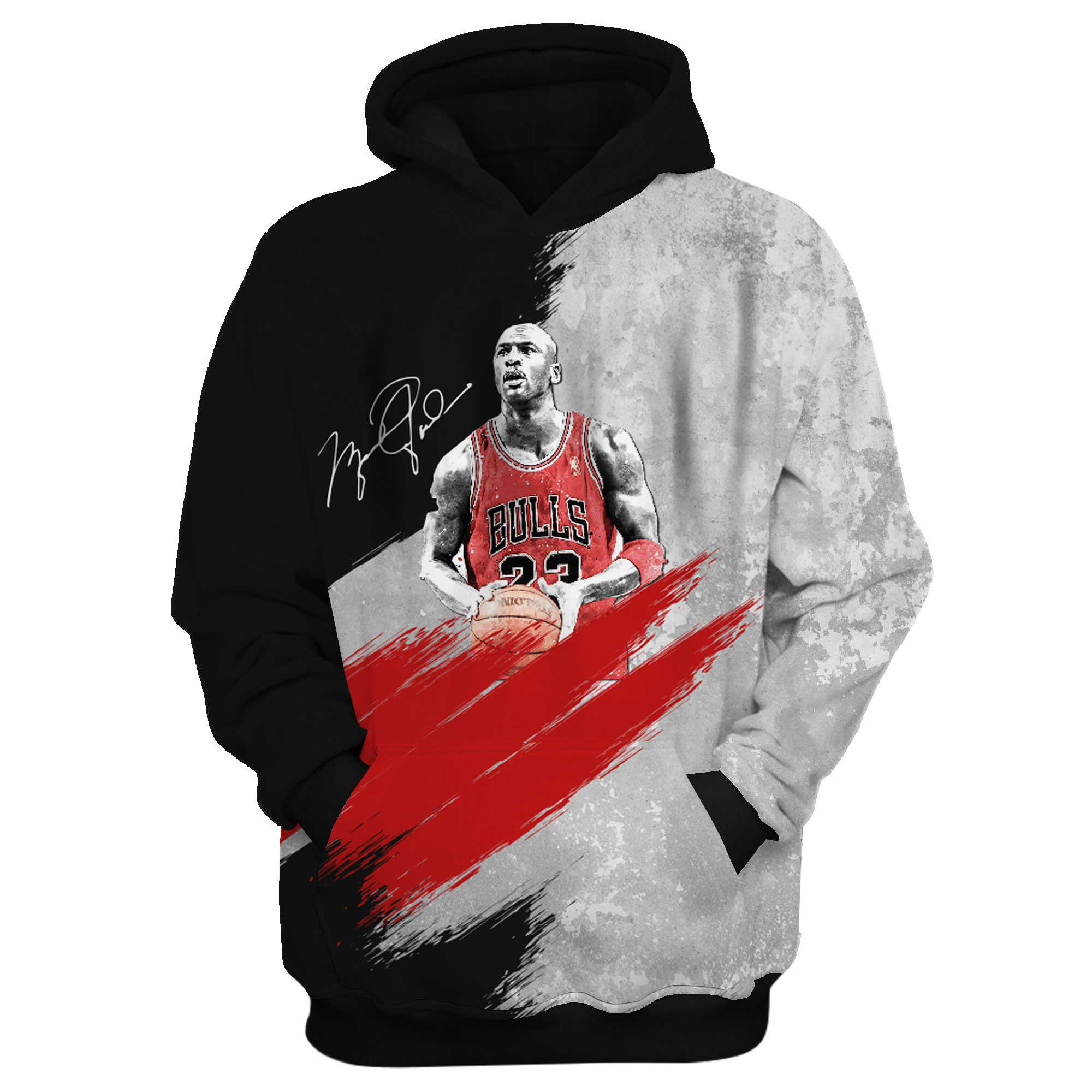Michael Jordan 3D Hoodie (HD-3D-1010)