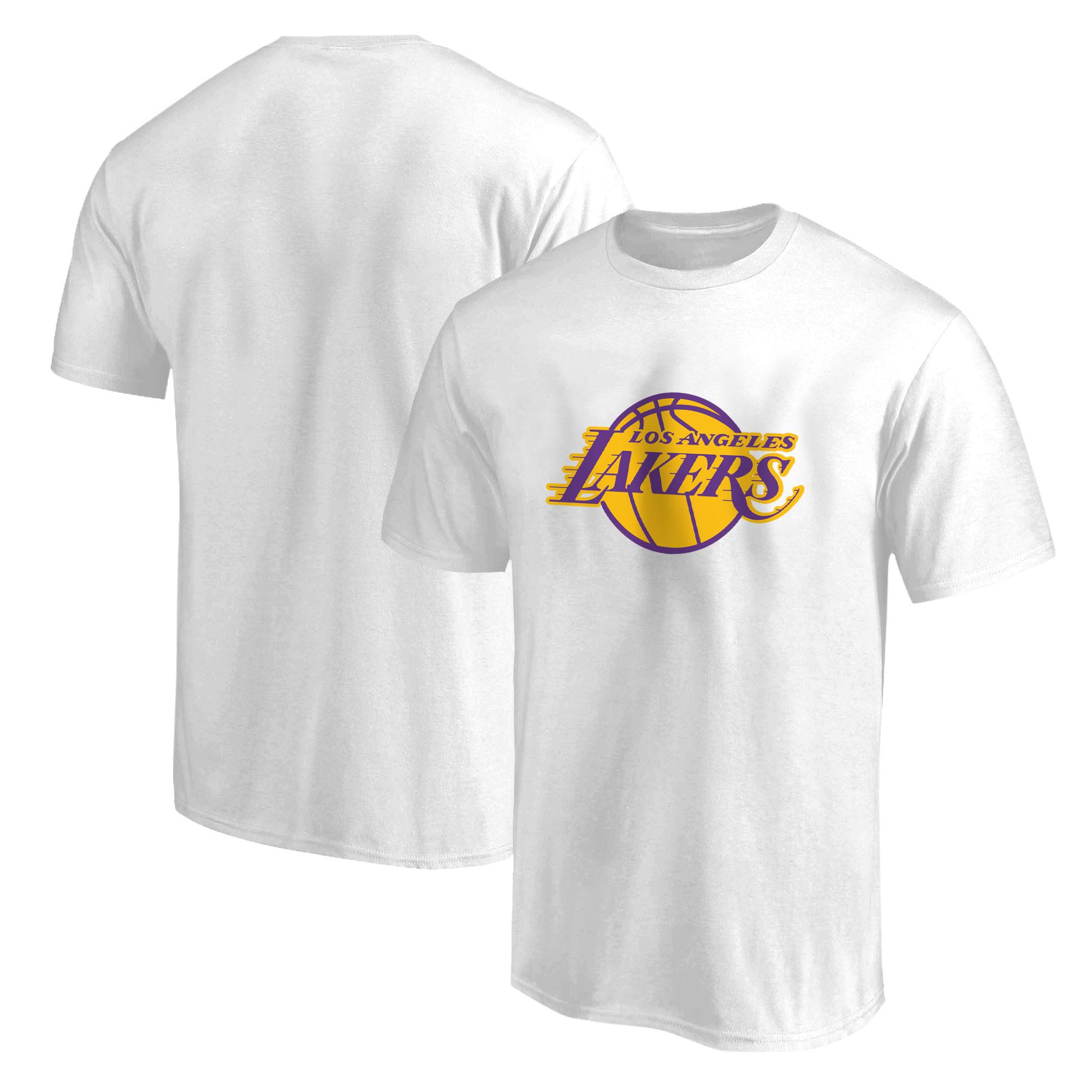 L.A. Lakers  Tshirt  (TSH-WHT-135-NBA-LAL-LOGO)