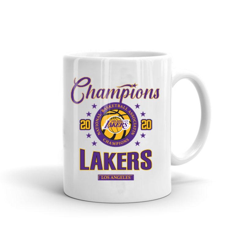 2020 Champions Lakers Mug (mug-2020-champion-lakers)