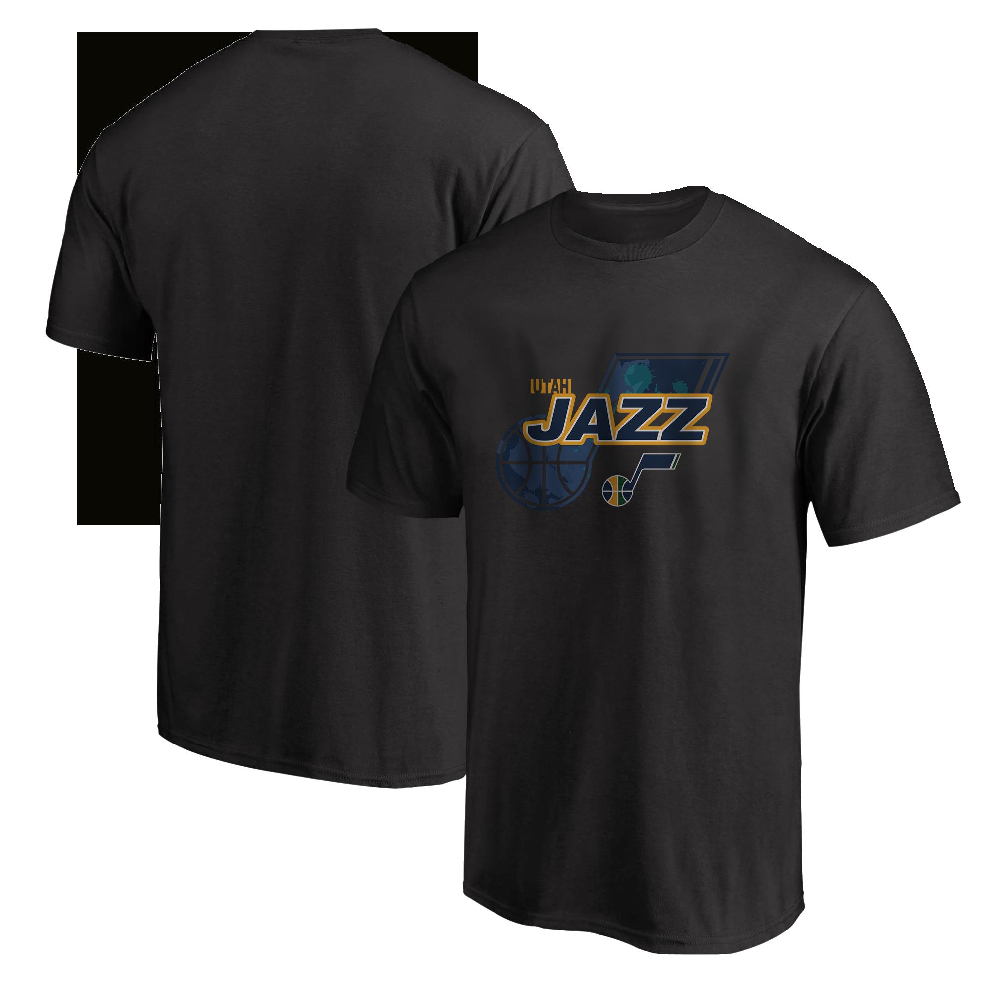 Utah Jazz  Tshirt (TSH-BLC-NP-200-NBA-UTH-LOGO)