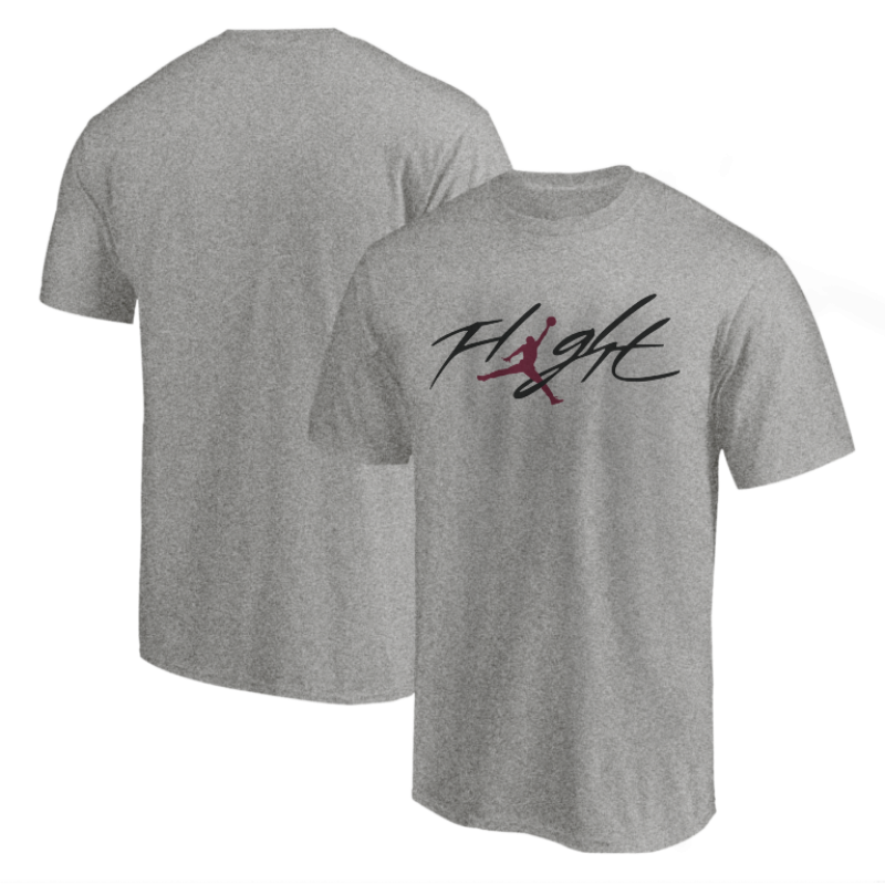 Air Jordan  Tshirt (TSH-WHT-NP-10-PLYR-JRDN-FLGHT-RNK)