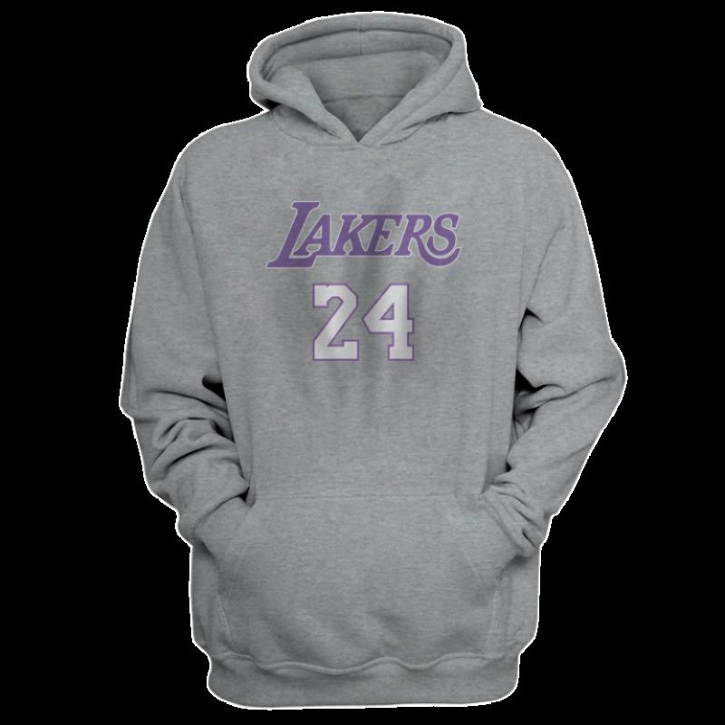 L.A. Lakers Kobe Bryant Hoodie (HD-YLW-100-PLYR-LAL-KOBE.FRM)