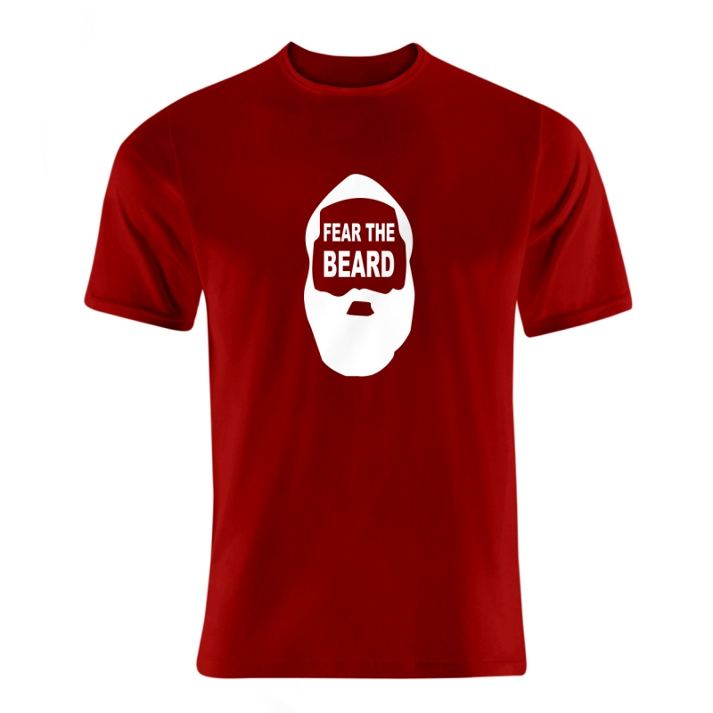 Houston Rockets James Harden Tshirt (TSH-BLU-107-PLYR-FEAR.BEARD)