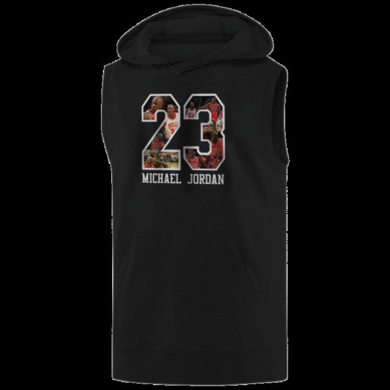 Air Jordan  Michael Jordan Sleeveless (KLS-GRY-11-PLYR-JRDN-23)