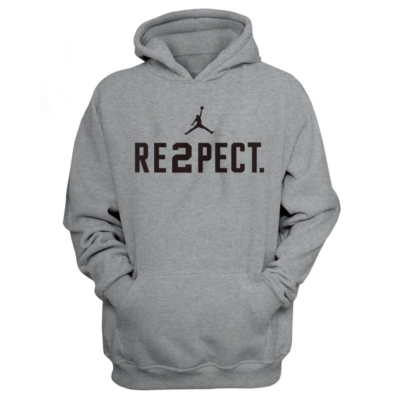RE2PECT. HOODIE (HD-YLW-NP-112-Respect-Siyah)