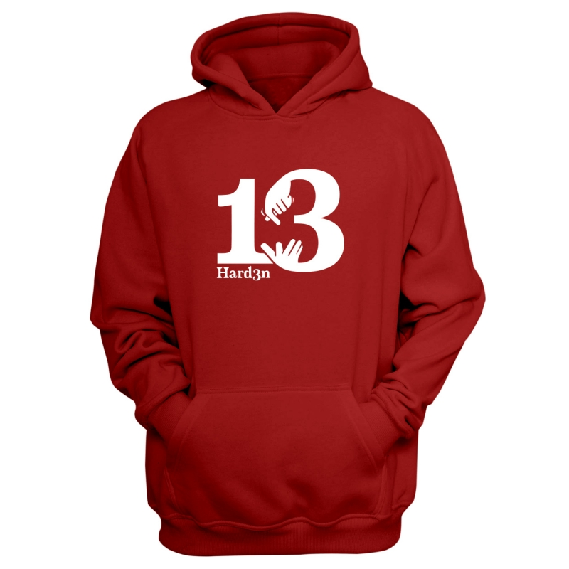 Houston Rockets James Harden Hoodie (HD-BLC-113-PLYR-HARDEN.13.BYZ)