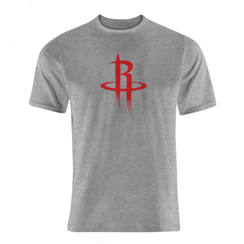 Houston Rockets Logo  Tshirt (TSH-BLC-NP-114-NBA-HOU-LOGO)