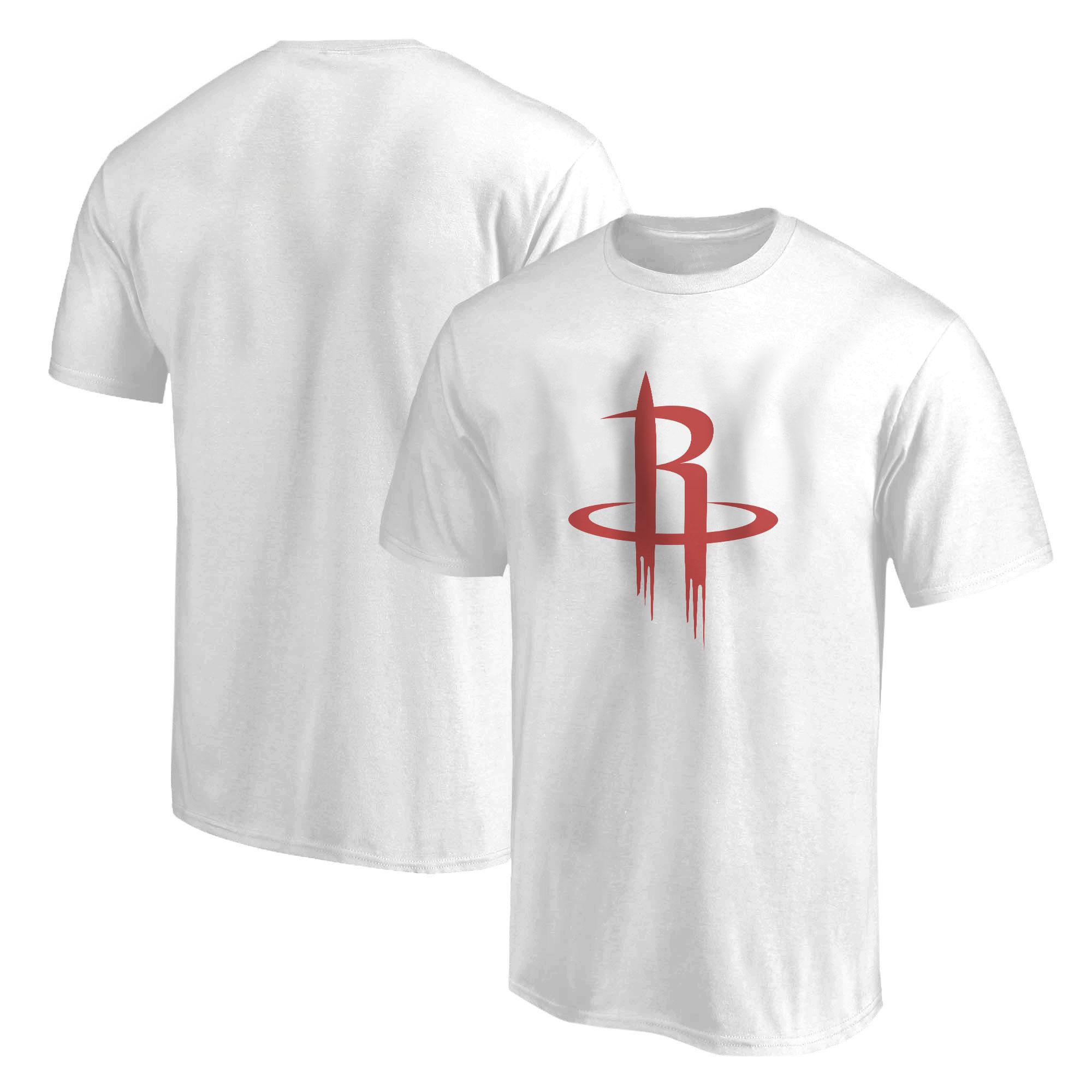 Houston Rockets Logo  Tshirt (TSH-WHT-NP-114-NBA-HOU-LOGO)