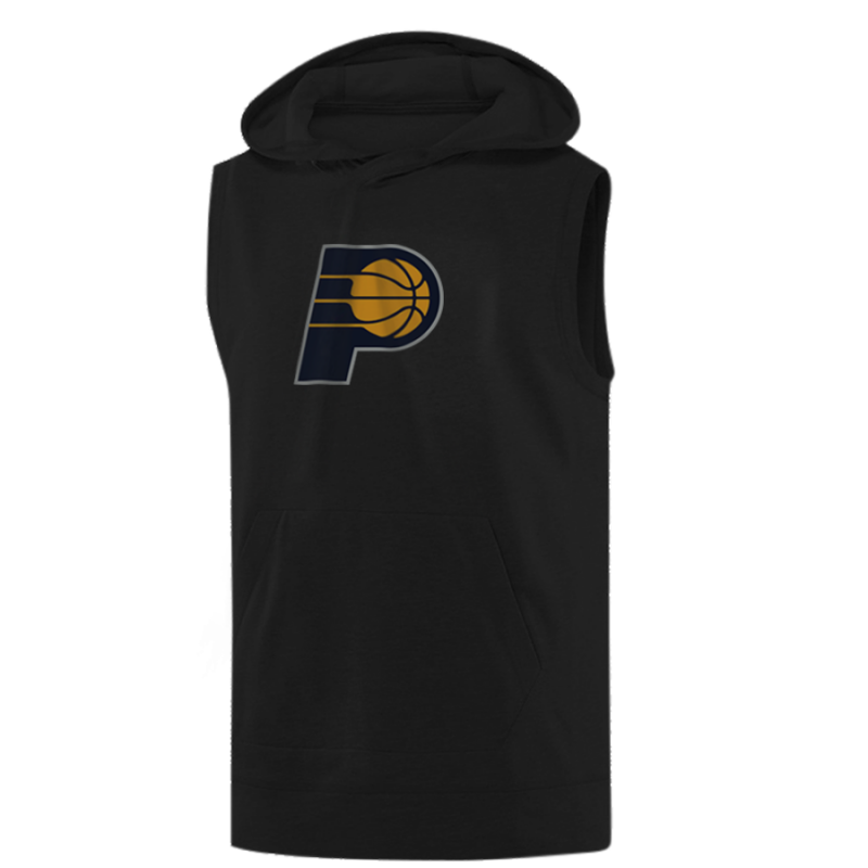 Indiana Pacers Sleeveless (KLS-GRY-118-NBA-IND-LOGO)