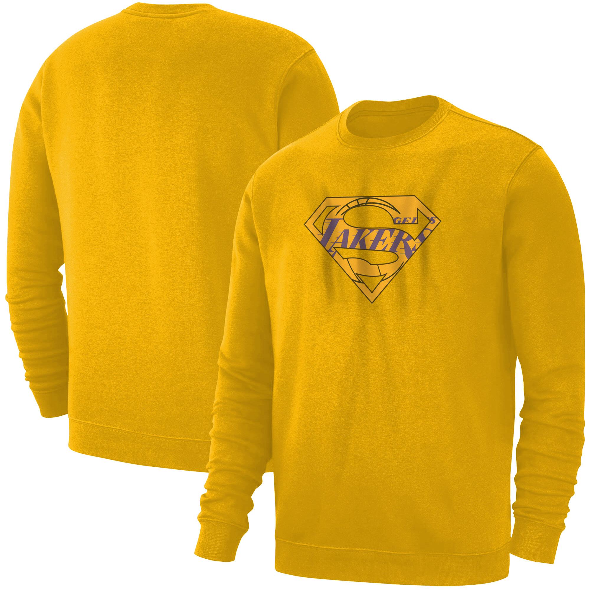 Lakers Superman  Basic (BSC-YLW-NP-122-NBA-LAL-SUPERMAN)