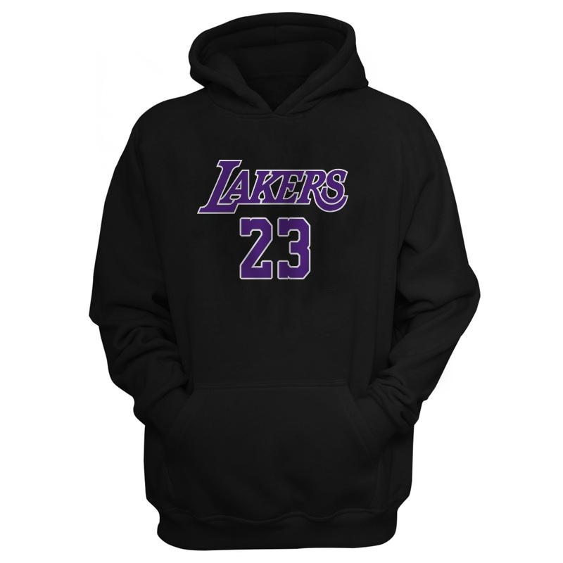 LeBron James Hoodie  (out-Hd-BLC-127-PLYR-LAL-LEBRON.FRM)