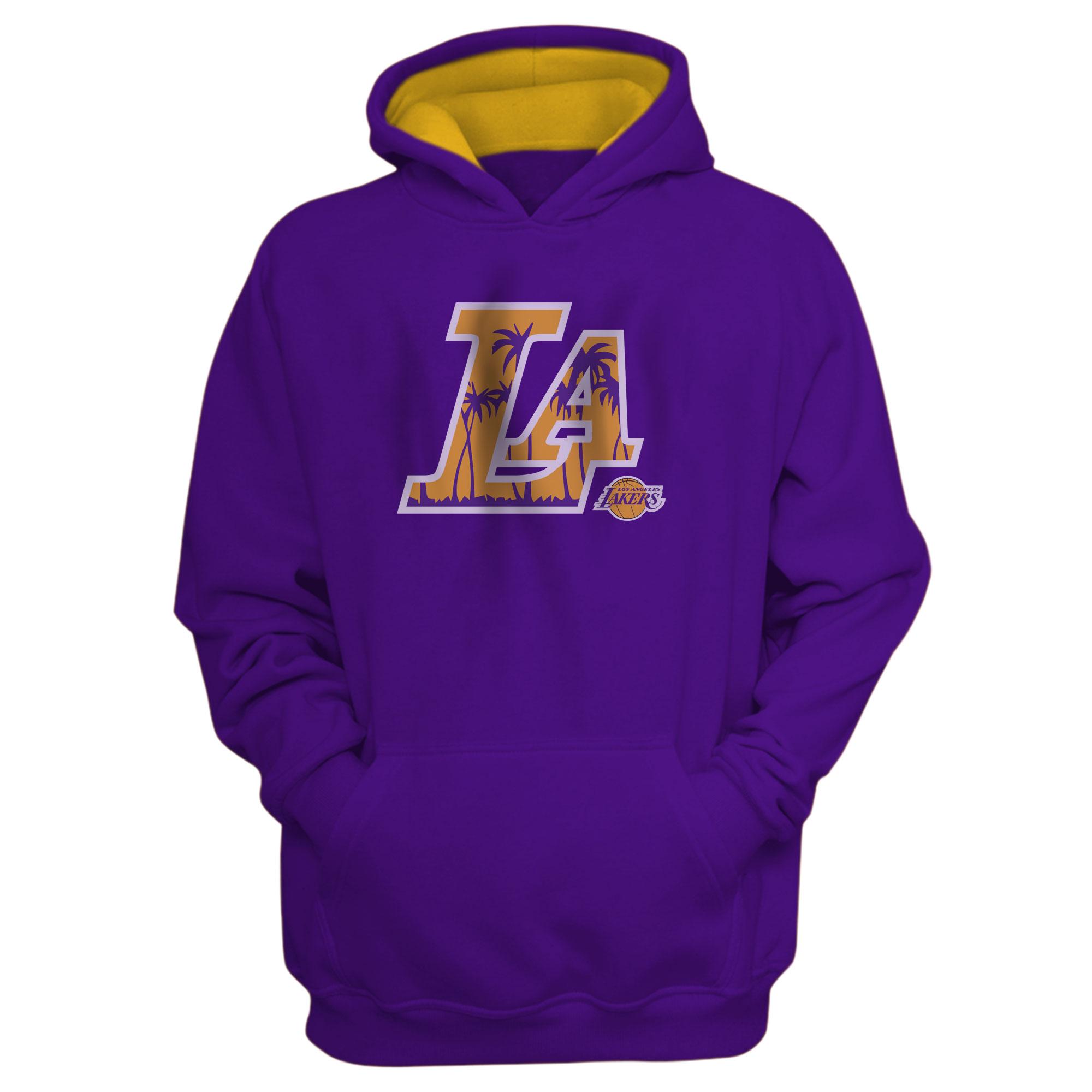 L.A. Lakers  Hoodie (HD-PRP-NP-142-NBA-LAL-L.A.)
