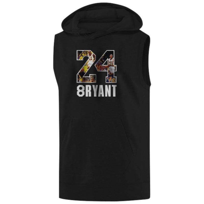 Kobe Bryant Sleeveless (KLS-GRY-NP-141-PLYR-LAL-KOBE.24-SIGN)
