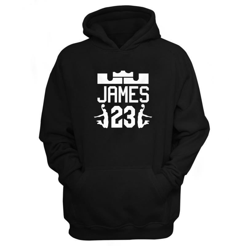 L.A. Lakers LeBron James Hoodie (HD-BLU-145-PLYR-JAMES.23)