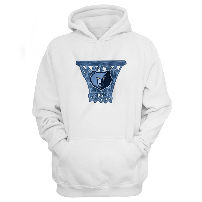 Memphis Grizzlies Hoodie (HD-BLC-146-NBA-MEM-LOGO)