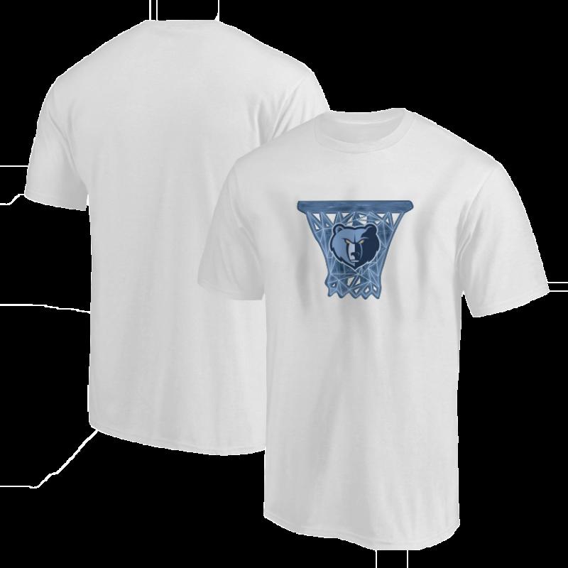 Memphis Grizzlies Circle Tshirt (TSH-BLC-146-NBA-MEM-LOGO)