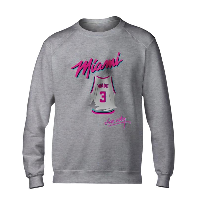 Miami Heat Vice City Basic (Wade) (BSC-BLC-148-PLYR-MIA-WADE.JRSY)