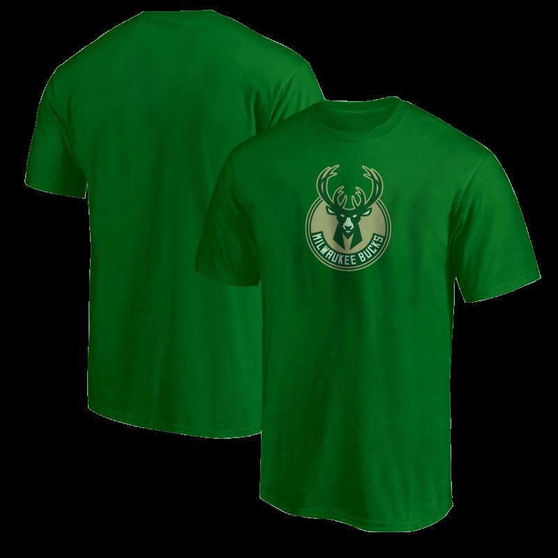 Milwaukee Bucks Tshirt (TSH-WHT-NP-151-NBA-MIL-LOGO)