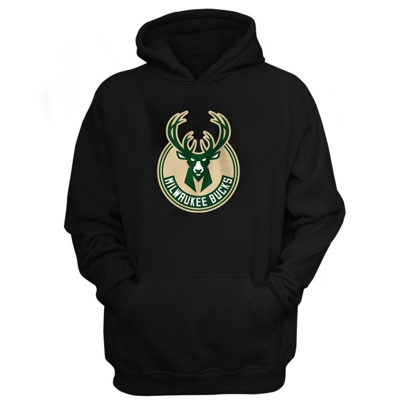 Milwaukee Bucks Hoodie (HD-GRN-NP-151-NBA-MIL-LOGO)