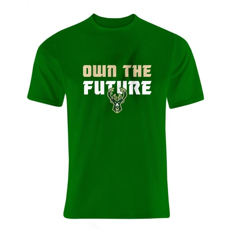 Milwaukee  Bucks Own The Future Tshirt (TSH-BLC-152-NBA-MIL-OWN.THE)