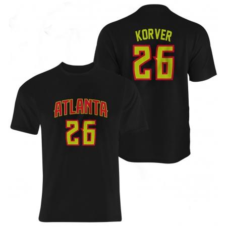 Atlanta Hawks Kyle Korver Tshirt (TSH-BLC-17-PLYR-ATL-KORVER)