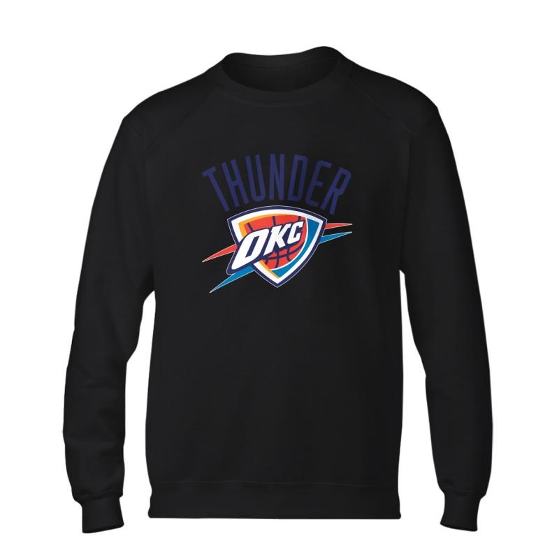Oklahoma City Thunder Basic (BSC-GRY-171-NBA-OKC-LOGO.2)