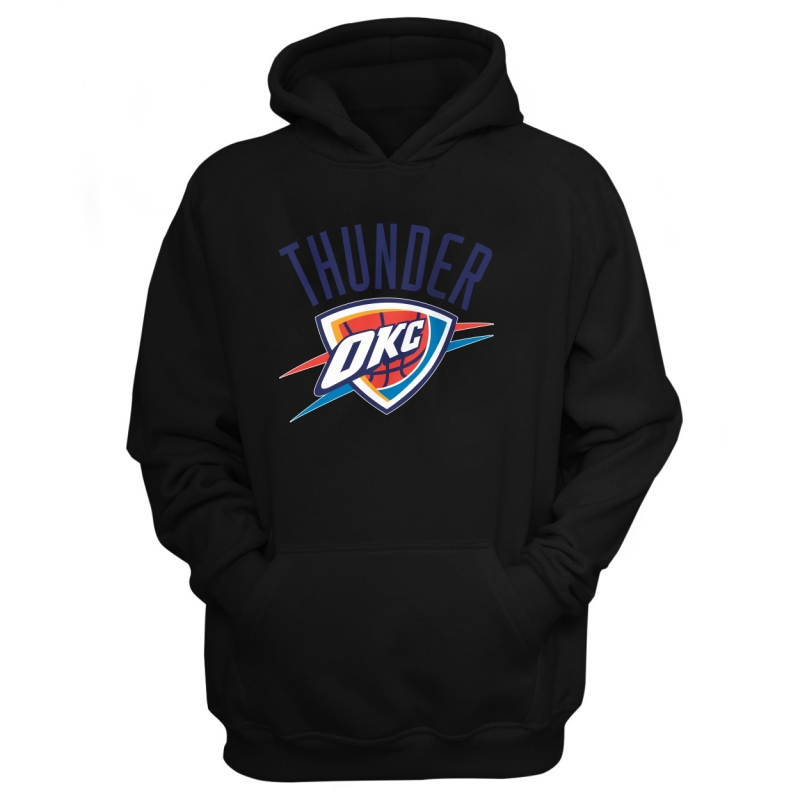 Oklahoma City Thunder Hoodie (HD-BLU-171-NBA-OKC-LOGO.2)