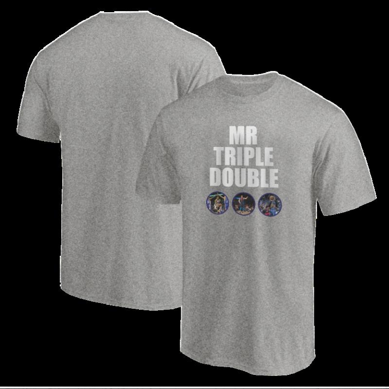 Russell Westbrook Tshirt (TSH-BLC-177-PLYR-OKC-MR.TRIPLE)