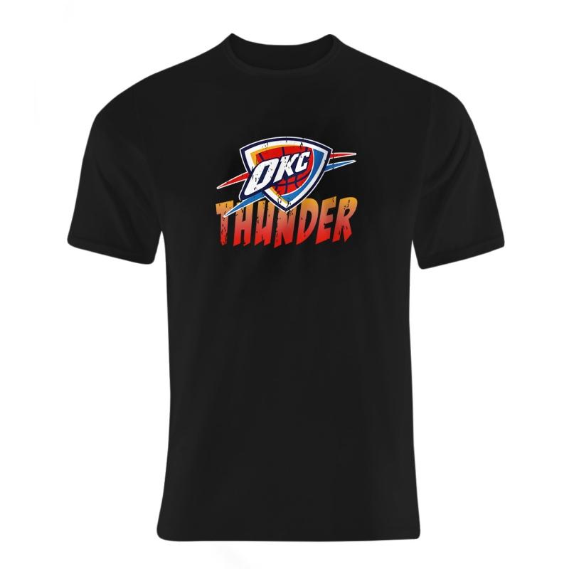 Oklahoma City Thunder Tshirt (TSH-BLU-178-NBA-OKC-THUNDER.AGING)