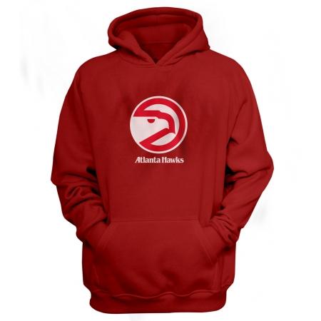 Atlanta Hawks Logo Hoodie (HD-BLU-18-NBA-ATL-LOGO)
