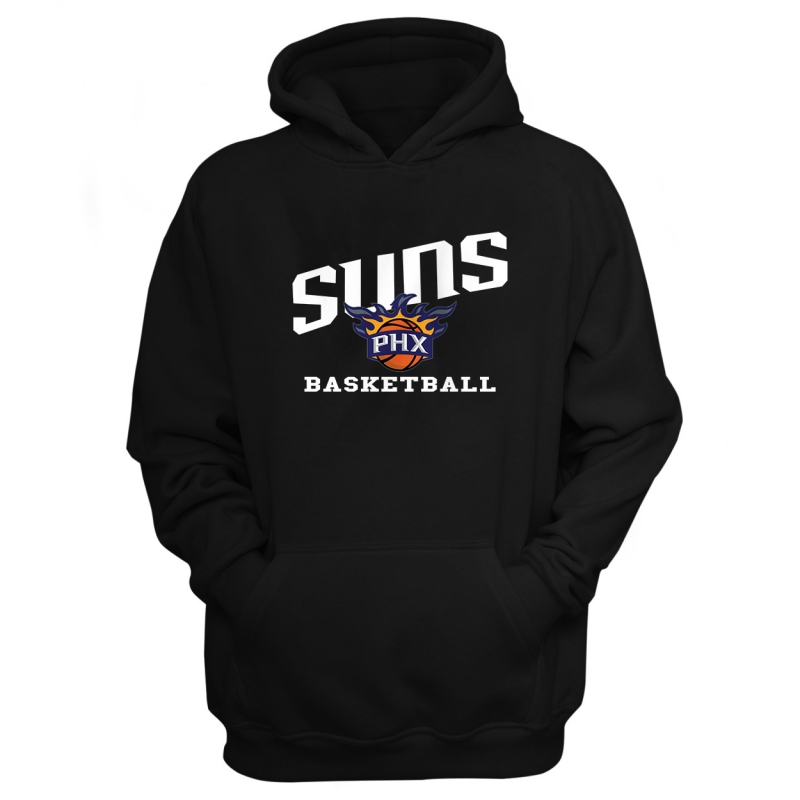 Suns Basketball Hoodie	 (HD-BLU-188-NBA-PHO-BASKETBALL)