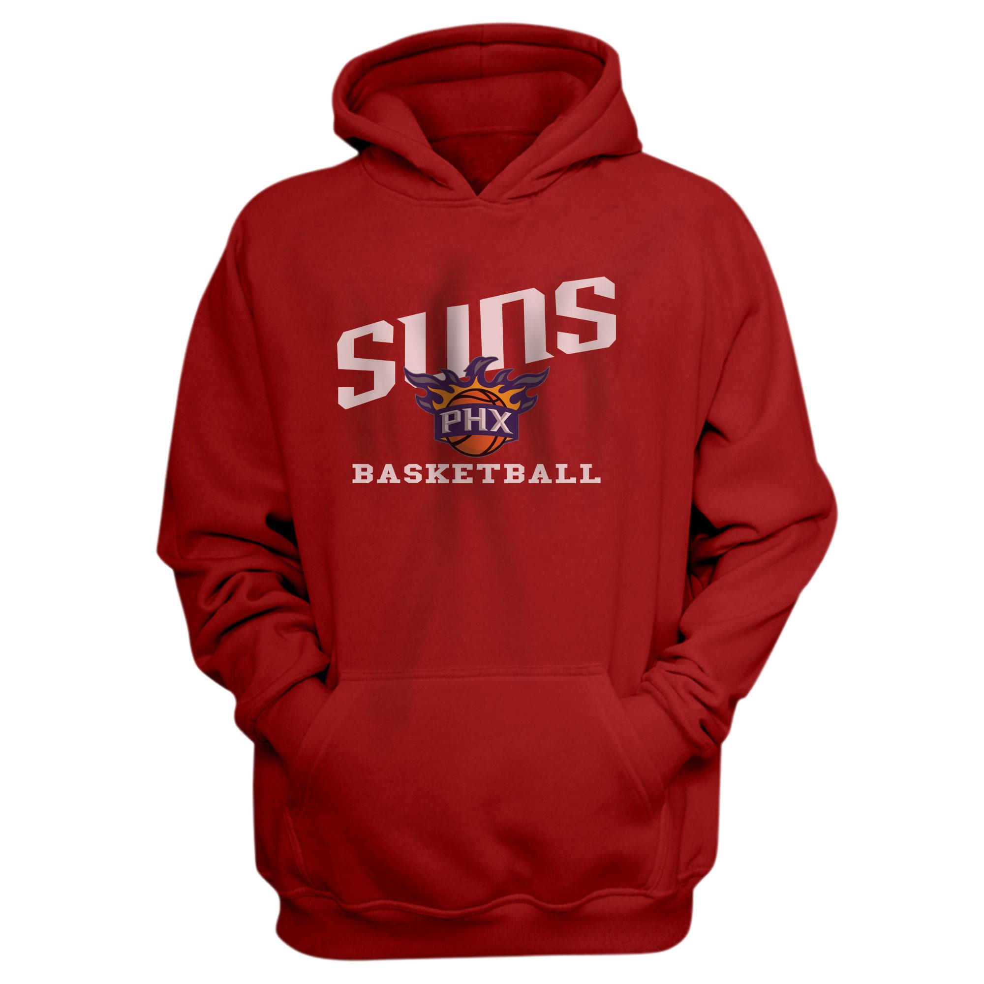 Suns Basketball Hoodie (HD-RED-NP-188-NBA-PHO-BASKETBALL)