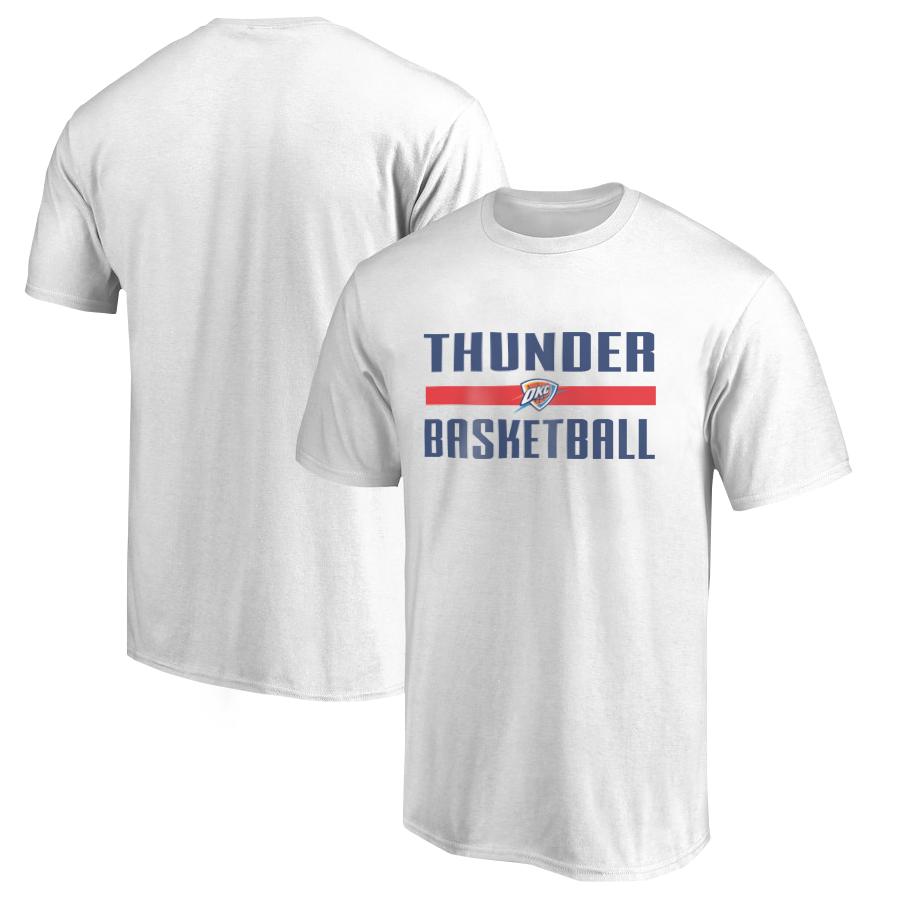 Oklahoma City Basketball Tshirt (TSH-WHT-SKR-okc.bsktbll-532)