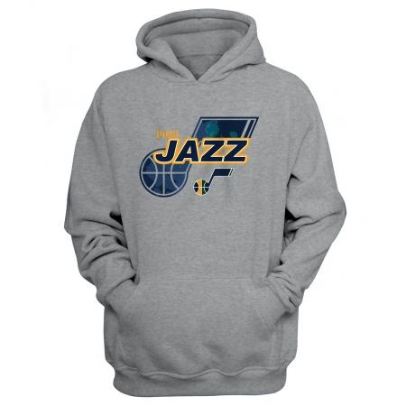 Utah Jazz Hoodie (HD-YLW-200-NBA-UTH-LOGO)