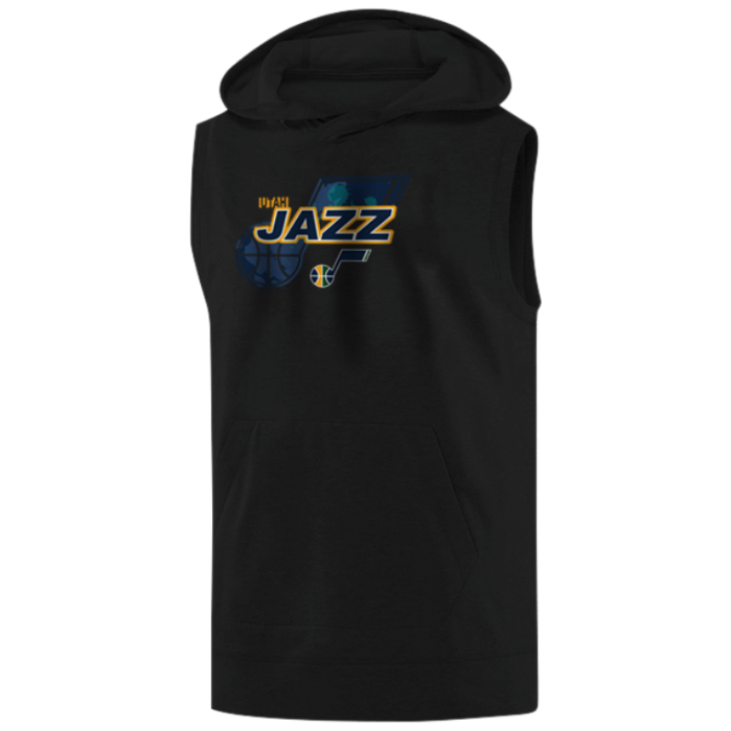 Utah Jazz Sleeveless (KLS-GRY-200-NBA-UTH-LOGO)
