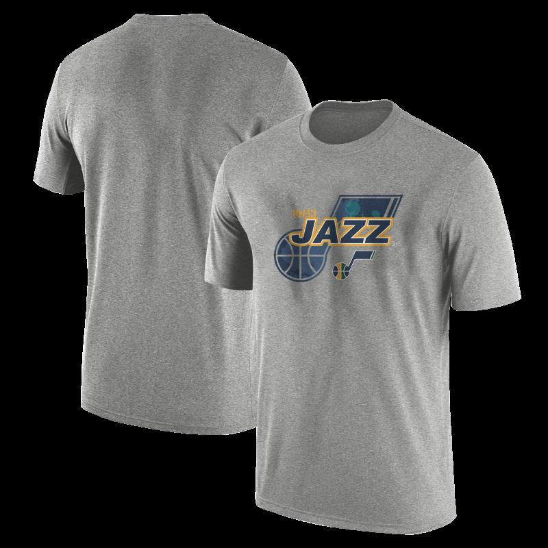 Utah Jazz  Tshirt (TSH-YLW-NP-200-NBA-UTH-LOGO)