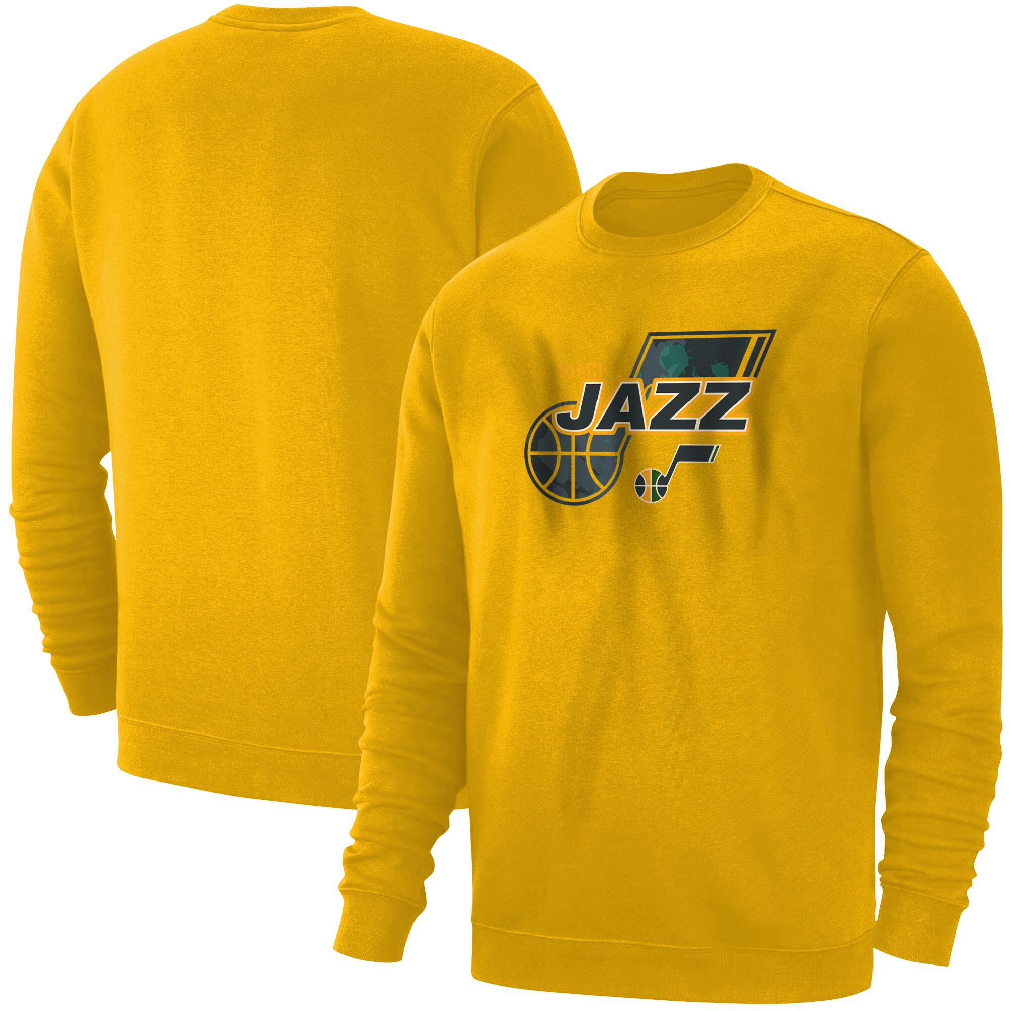 Utah Jazz Basic (BSC-YLW-NP-200-NBA-UTH-LOGO)