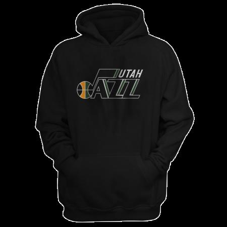 Utah Jazz Hoodie (HD-BLU-201-NBA-UTH-LOGO.2)