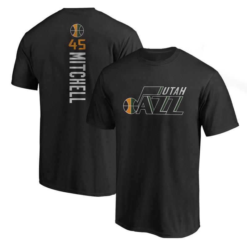 Utah Jazz Tshirt (TSH-BLU-203-PLYR-UTH-MITCHELL.VER)
