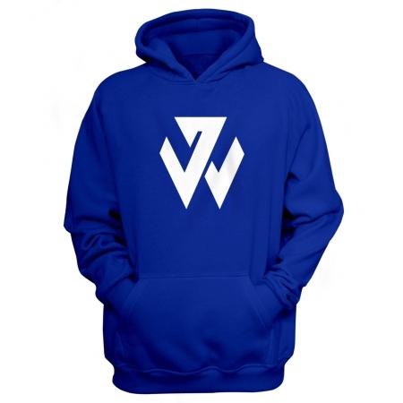 Washington Wizards John Wall Hoodie (HD-BLC-206-PLYR-WALL.LOGO)