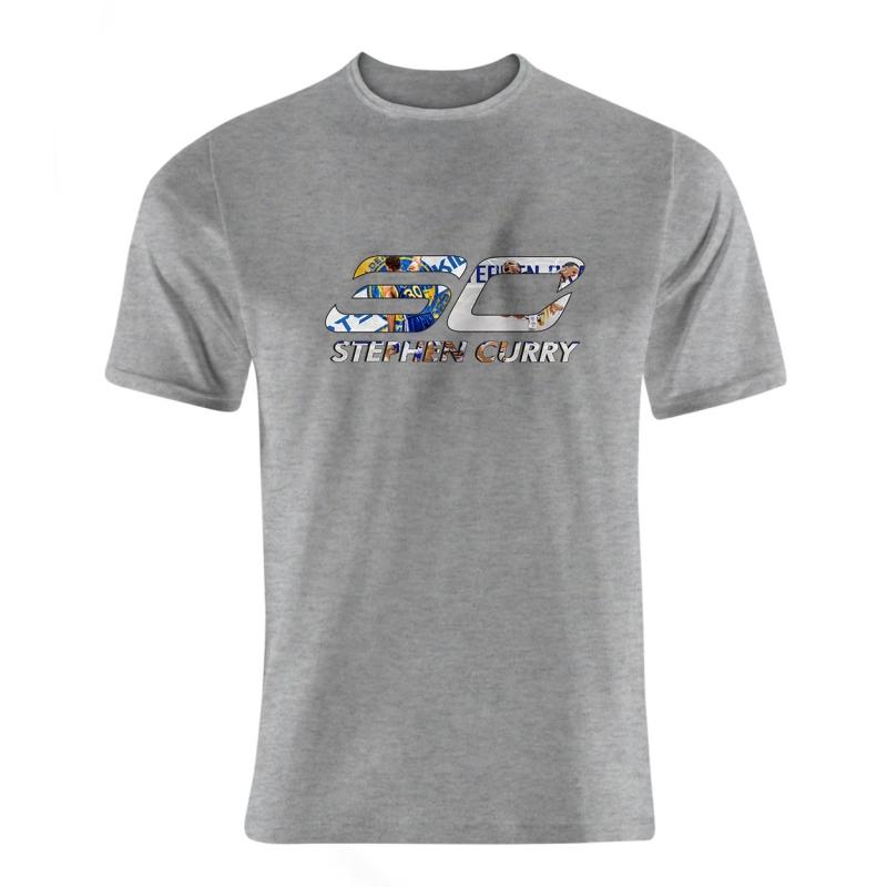 Golden State Warriors Stephen Curry 30 Tshirt (TSH-WHT-NP-208-PLYR-GSW-CURRY.30)