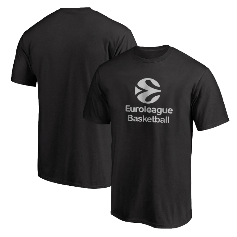Euroleague Logo Euroleague Basketball Tshirt (TSH-BLU-NP.euro.bsktbll.new-611)