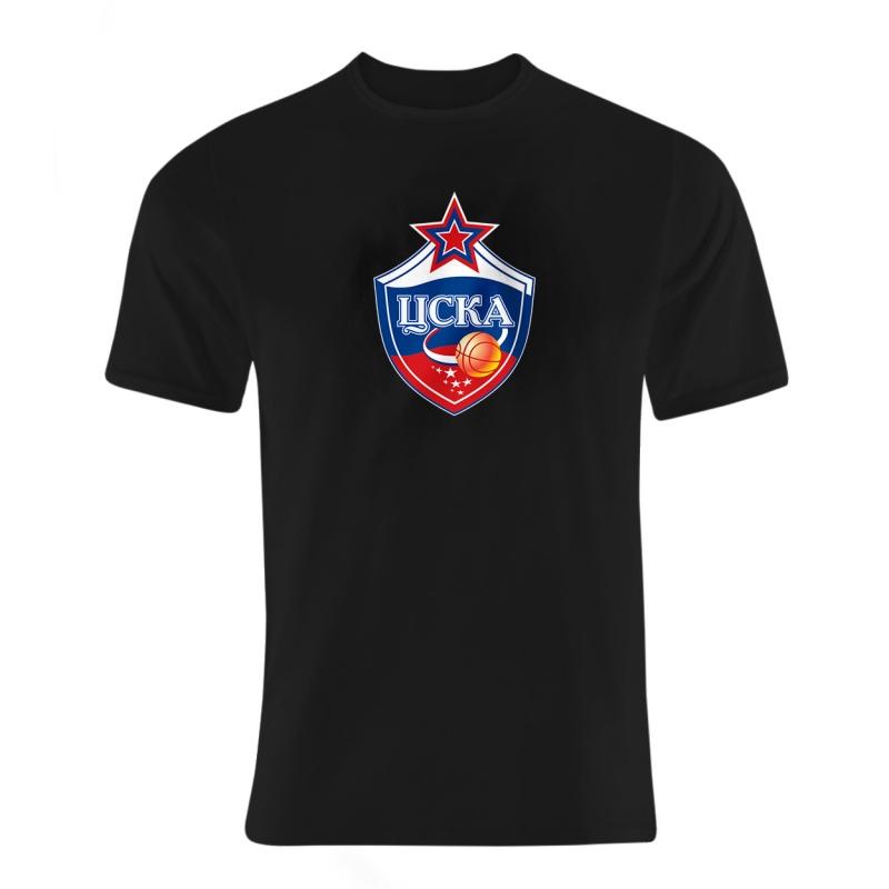 CSKA Moskova Euroleague CSKA Tshirt (TSH-BLU-NP-227-EURO-CSKA-LOGO)