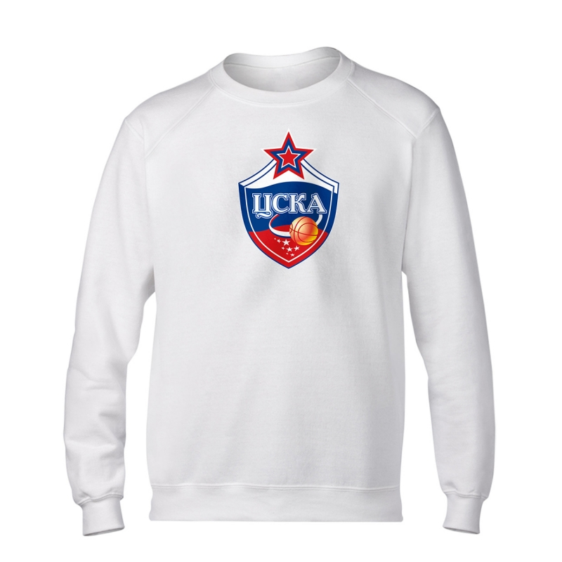 CSKA Moskova Euroleague CSKA Basic Sweat (BSC-BLC-227-EURO-CSKA-LOGO)