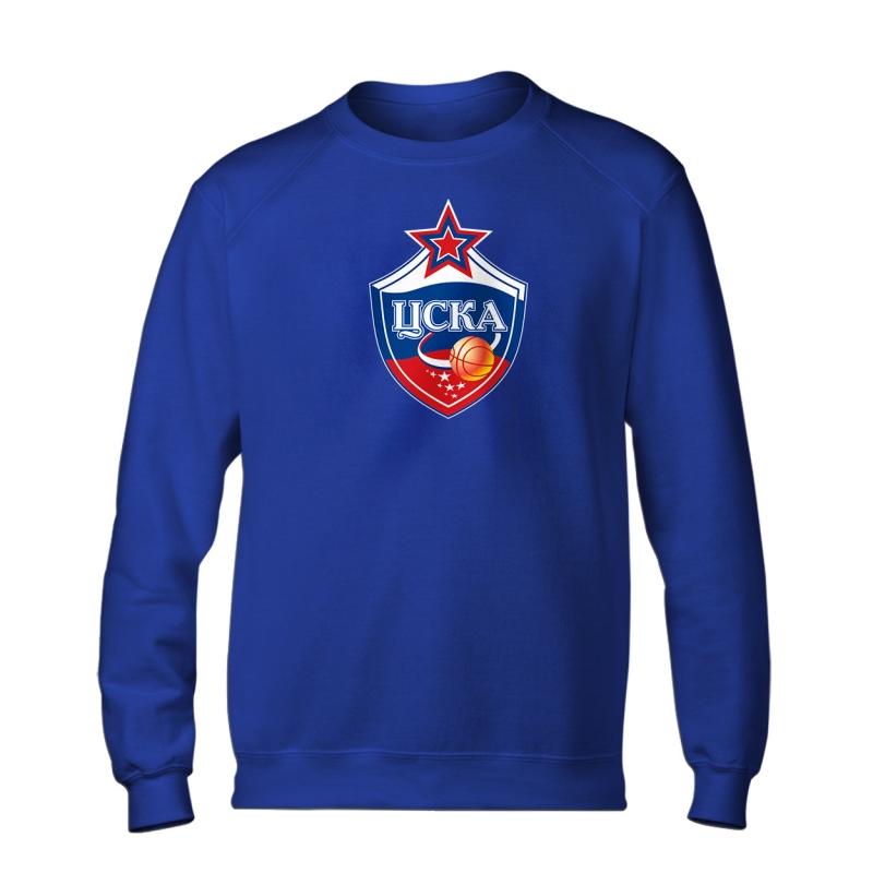 CSKA Moskova Euroleague CSKA Basic Sweat (BSC-BLC-NP-227-EURO-CSKA-LOGO)