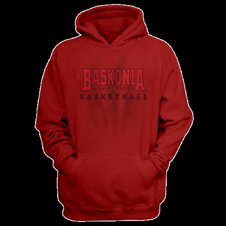 Baskonia Hoodie (HD-GRY-228-EURO-BASK-FLAT)