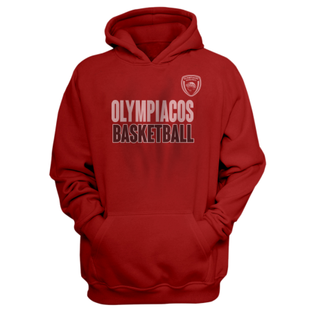Olympiakos Hoodie (HD-GRY-NP-229-EURO-OLYM-BASKETBALL)