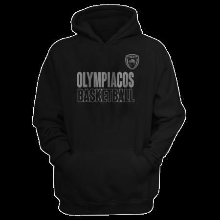 Olympiakos Hoodie (HD-GRY-229-EURO-OLYM-BASKETBALL)