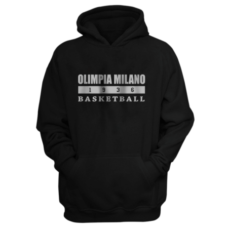 Olimpia Milano Hoodie (HD-RED-PLT.olimpia.bsktbll-626)