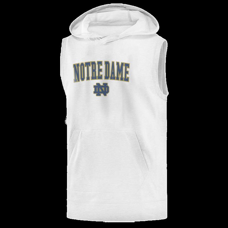 Notredame Sleeveless (KLS-GRY-234-NCAA-NOTRE-LOGO)